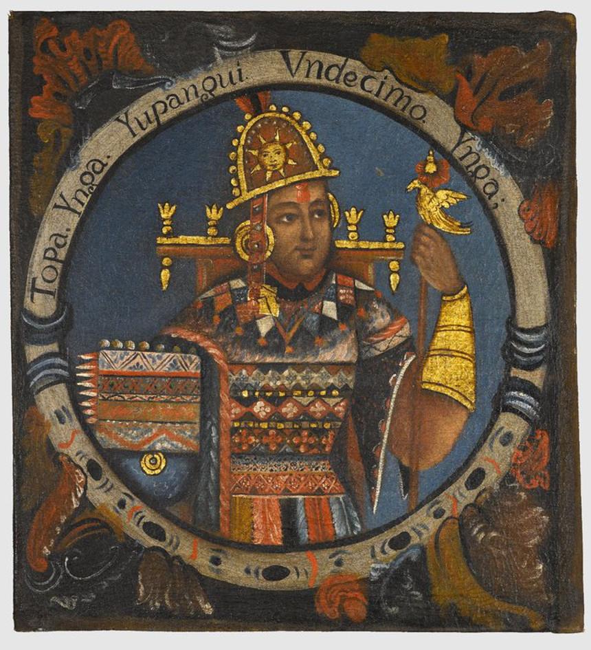 Galapagos People: Tupac Yupanqui © Brooklyn Museum