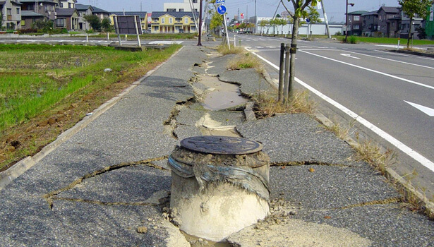 Japan 2004 Earthquake © Wikipedia