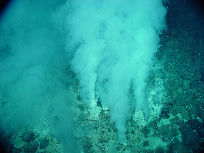 Galapagos Places: A hydrothermal vent © NOAA