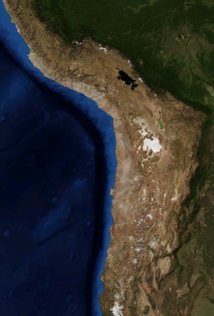 Galapagos Place: Atacama Desert, Peru © NASA