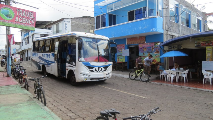 Galapagos People: Crowded towns © Galapaogs Conservation Trust