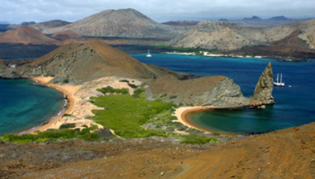 A high altitude point in Galapagos © Chris Hall