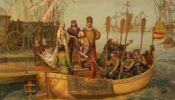 First voyage to the New World (Public Domain)