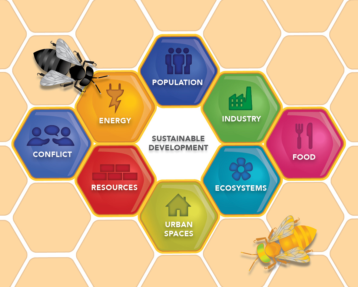 Galapagos Graphics: Sustainability Hive © GCT