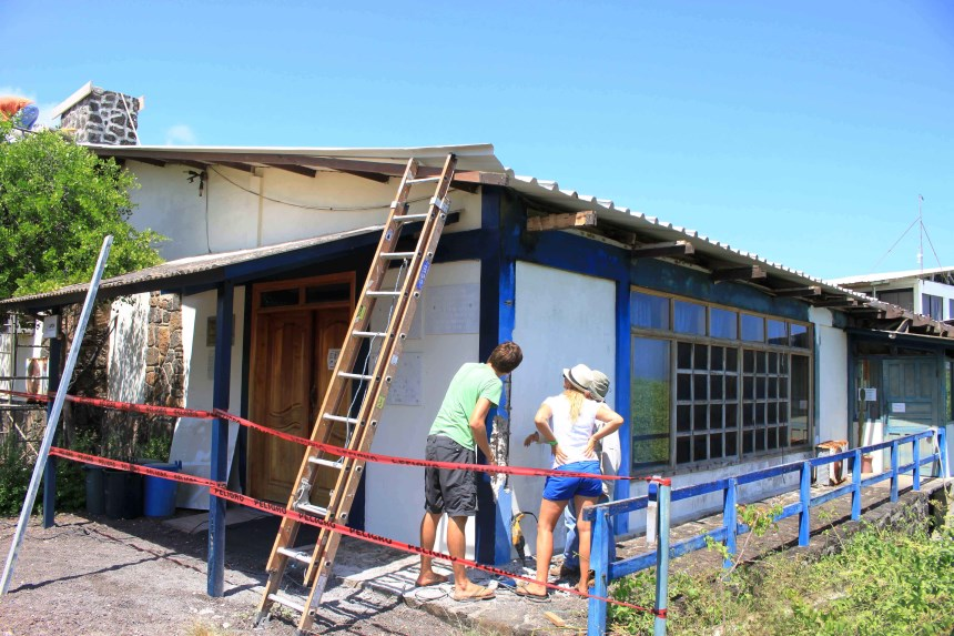 Galapagos Places: Library © Sustainable Buildings Project