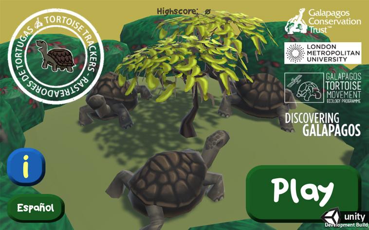 Galapagos Graphics: Tortoise Trackers Screenshot